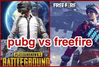 Pubg better than free fire