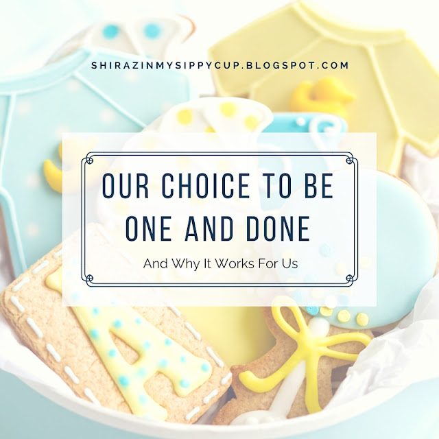 Our Choice to be One and Done and Why It Works For Us. #parenting #workingmoms #familyplanning