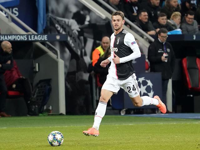 Pernyataan Pertama Daniele Rugani, Bek Juventus Setelah Divonis Positif Virus Corona