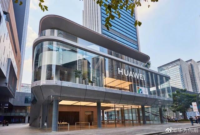 huawei global flagship store shenzhen, china
