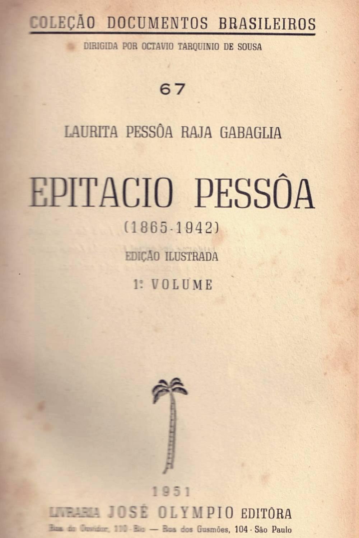 literatura paraibana ensaio epitacio pessoa obras seca gilberto freyre jose americo almeida livro encomendado
