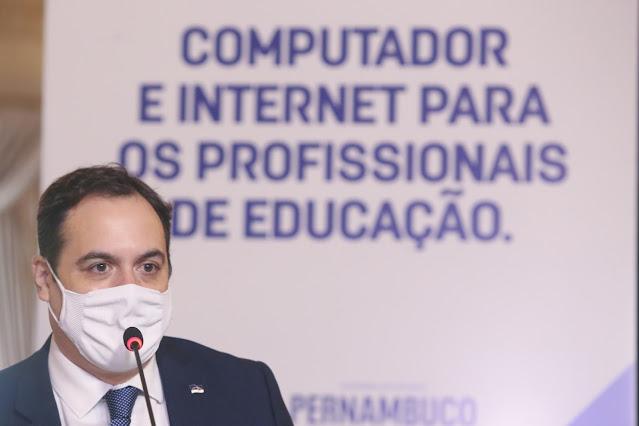 Mais de 21 mil profissionais da rede pública terão notebooks e plano de conectividade