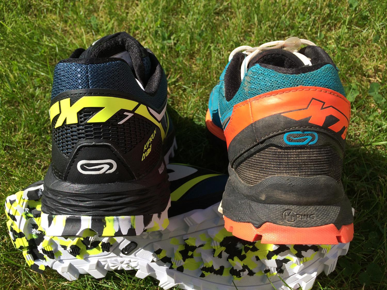 0f96877812e ... de maintien à la chaussure. On retrouve un pare-pierre un peu plus  imposant sur l avant pour protéger les orteils.