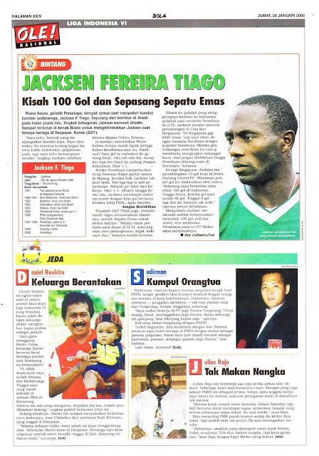PROFIL BINTANG JACKSEN FEREIRA TIAGO