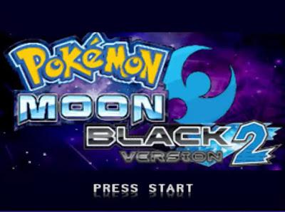 Pokemon Moon Black 2 para NDS Portada del inicio del juego