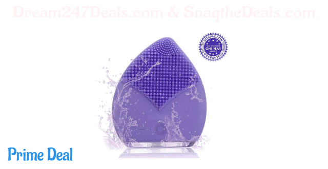 60% off Silicon Facial Cleaner Brush Electric