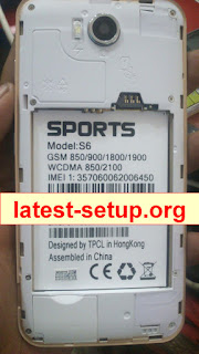 Sports S6 New Preloader Firmware Flash File Download