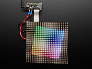Adafruit RGB Matrix Bonnet