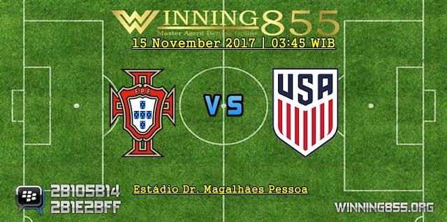 Prediksi Pertandingan Portugal vs Amerika Serikat 15 November 2017