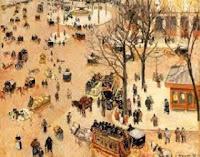 Camille Pissarro: La Place du Théâtre Français, 1898
