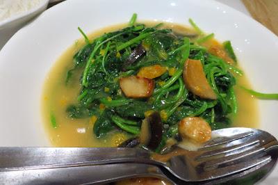 Putien, spinach superior stock