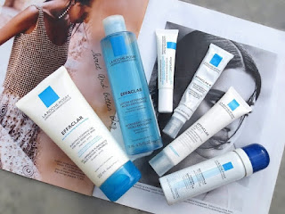 Acne Free Skin with La Roche-Posay Products