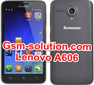 Lenevo A606 Offical Stock Rom/Firmware/Flash file Download 100% Tatsed