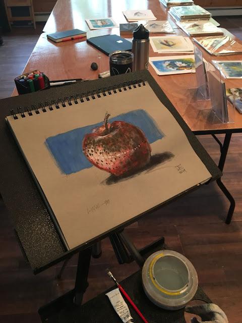 JEFF KENNEDY - Gates Lodge  Artist in Residence  Journal #3