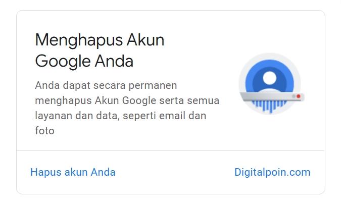 Cara Menghapus Akun Google Secara Permanen dari Ponsel