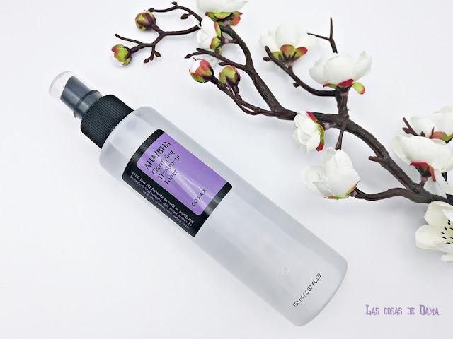 cosrx corean beauty cosmética asiática beauty skincare cuidado facial aha bha tónico