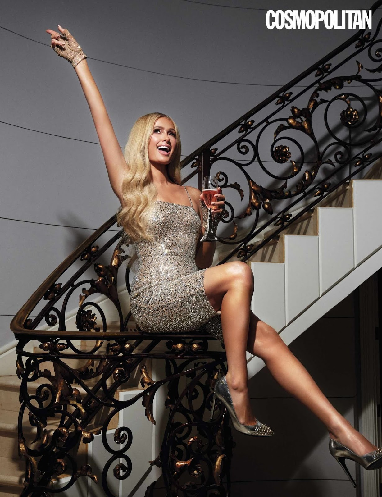 Paris Hilton – Cosmopolitan Magazine UK by Bernardo Doral April 2020