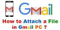 How to Attach a File in Gmail?