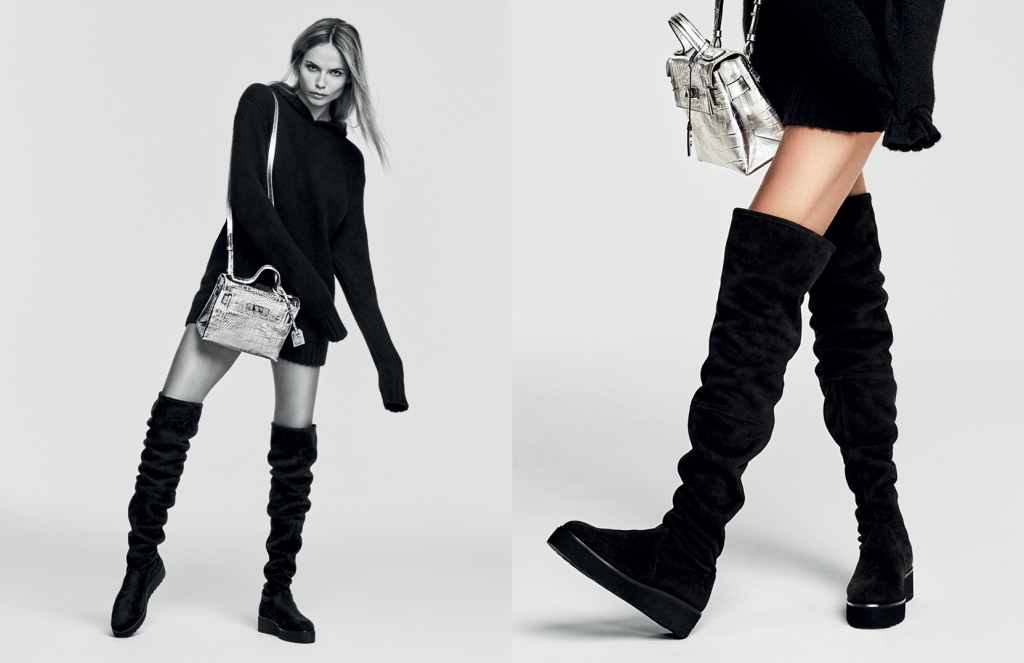 Natasha Poly by Erik Torstensson for Kurt Geiger Autumn/Winter 2016 Campaign