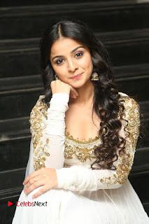 Telugu Actress Mahima Makwana Stills in White Desginer Dress at Venkatapuram Movie Logo Launch  0146.JPG