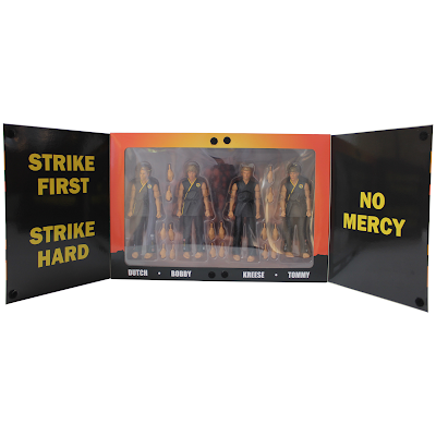 San Diego Comic-Con 2021 Exclusive The Karate Kid Cobra Kai Competition Team Action Figure Box Set by Icon Heroes