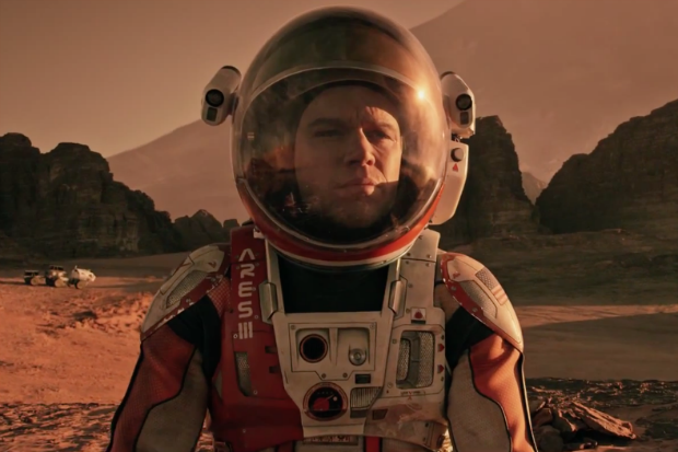 the martian speech
