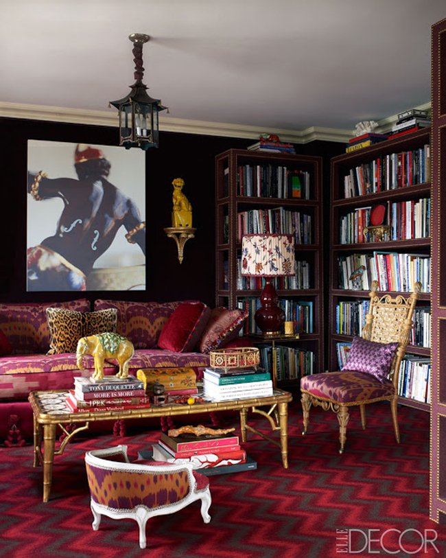 Because It's Awesome: Interiors // November 2012 Elle Decor