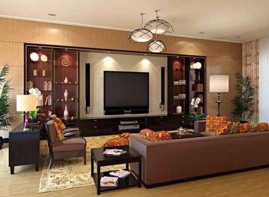 Gambar Ruang Keluarga dengan gaya minimalis