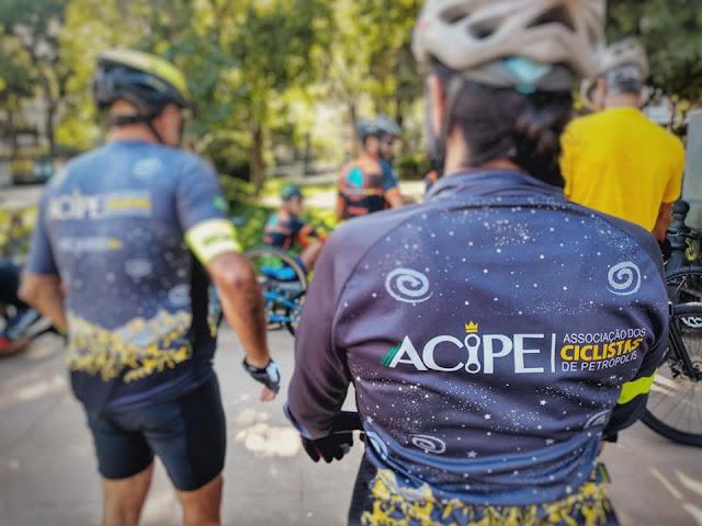 Acipe convoca voluntários para pesquisa Perfil do Ciclista 2021 - Foto: Acipe / Facebook