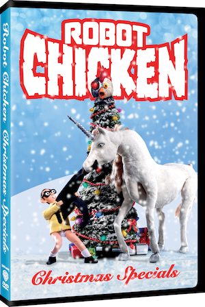 Review: Robot Chicken: Christmas Specials DVD
