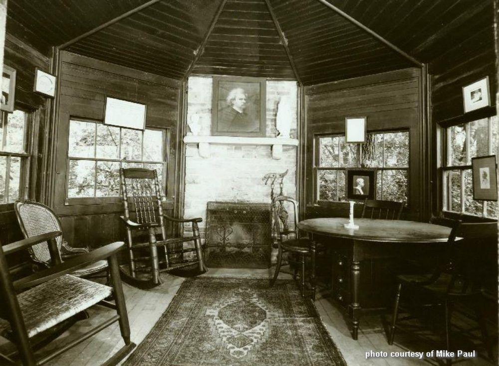 Mark Twain's study