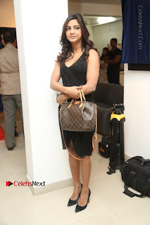 Telugu Actress Kamna Singh Stills in Black Dress at Bharat Thakur Art Exhibition Launch  0189.jpg