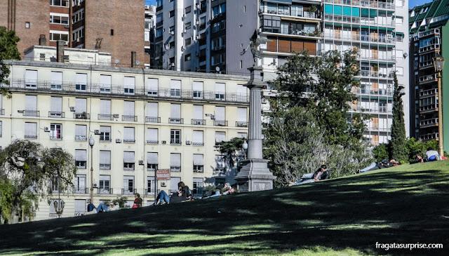 Plaza Francia, jardim na Recoleta, Buenos Aires