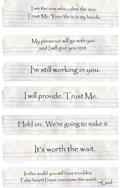 God's notes