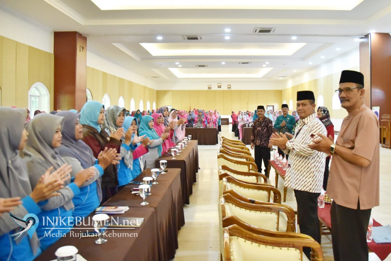 Buka Workshop IGRA, Wabup Arif Minta Kapasitas Guru RA  Ditingkatkan