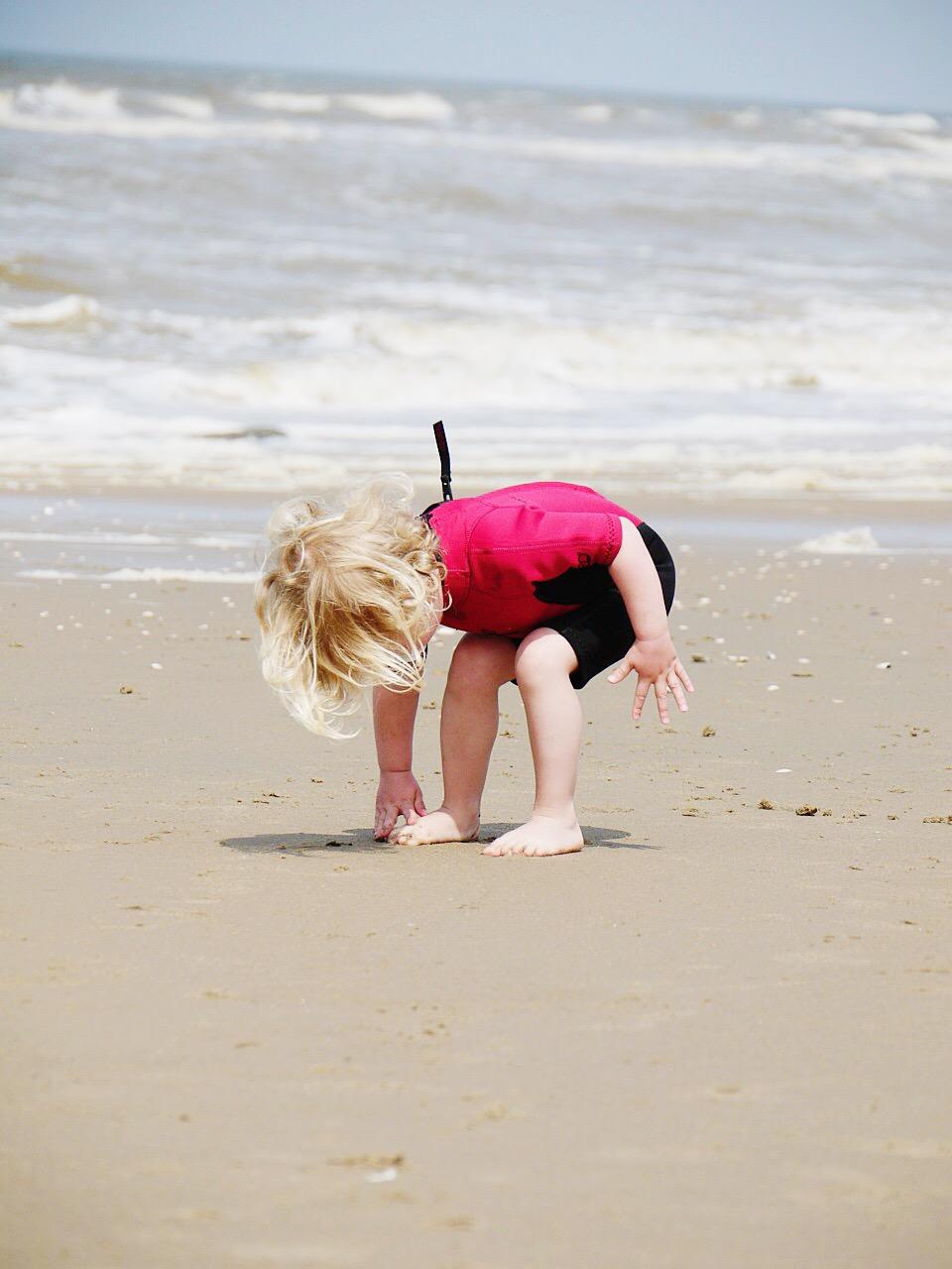 Strandausflug mit Kindern