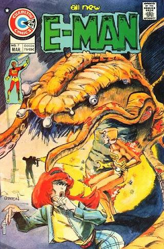 E-Man #7, cover