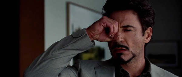 Screen Shot Of Hollywood Movie Iron Man 2 (2010) In Hindi English Full Movie Free Download And Watch Online at worldfree4u.com