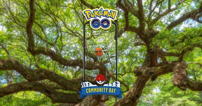 Fletchling Pokémon GO Dia Comunitário
