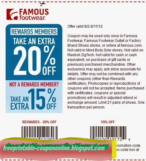 Carsons in store coupons