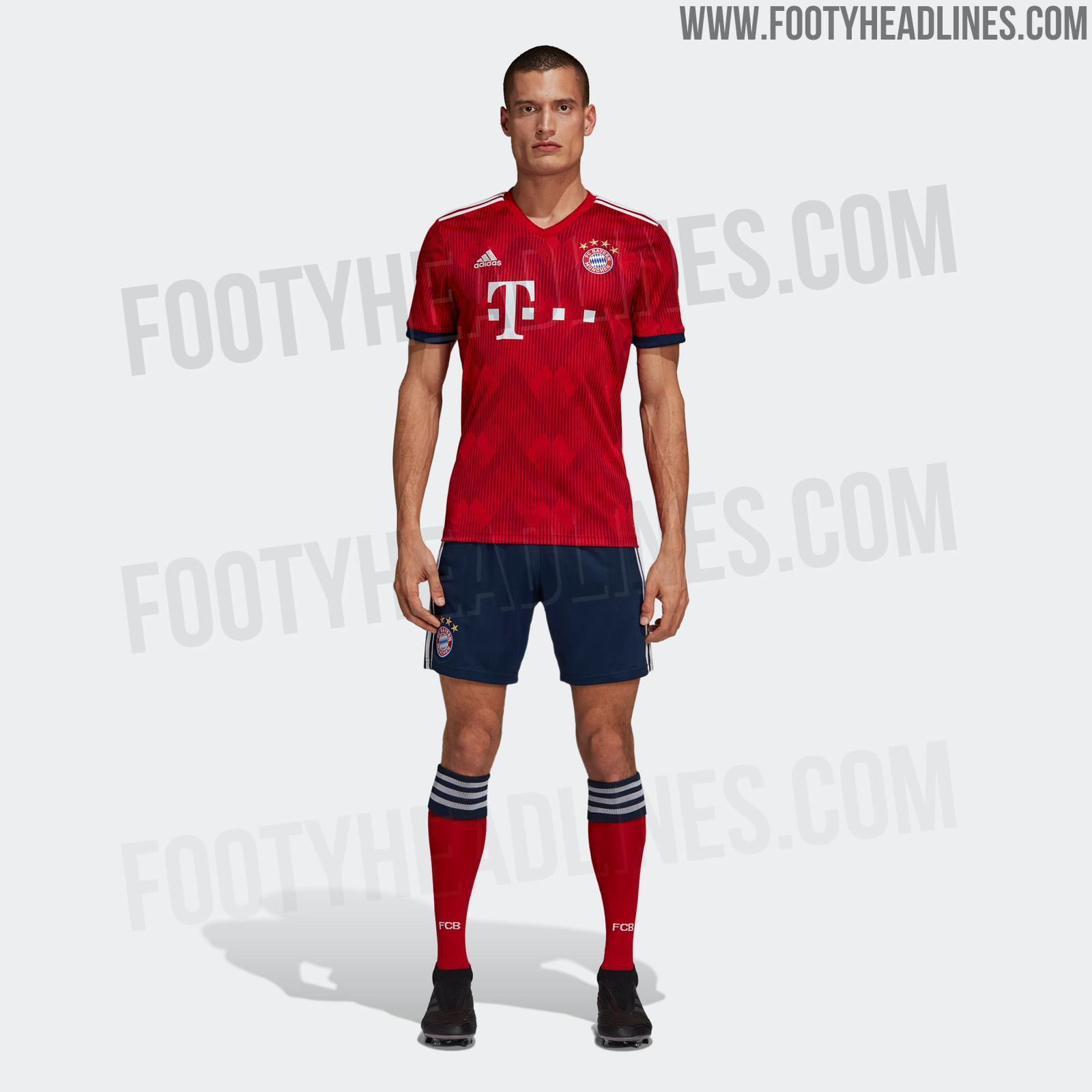 Bayern Trikots 18/19