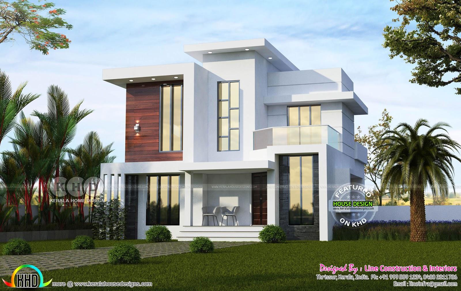 2018 kerala home design and floor plans. Black Bedroom Furniture Sets. Home Design Ideas