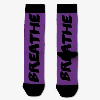 Breathe Socks Purple