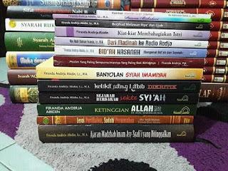 Karya Ustadz Dr. Firanda Andirja, MA hafidzhahullah