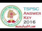 TSPSC Group 2 Answer Key 2016 Download for cut off marks available @tspsc.gov.in