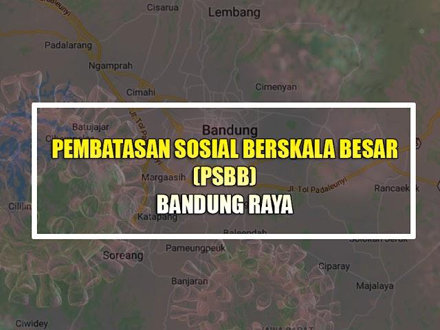 Yuk, Kenali Teknis Penerapan PSBB di Bandung Raya Mulai Rabu 22 April 2020