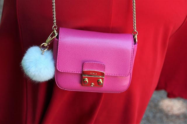 Furla Metropolis, Furla Tasche pink, Ü50 Mode, Ü50 Blog, Mode 50+