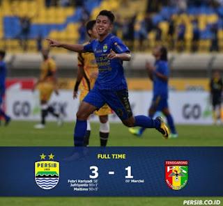 Persib Bandung Akhirnya Menang, Kalahkan Mitra Kukar 3-1 #PersibDay