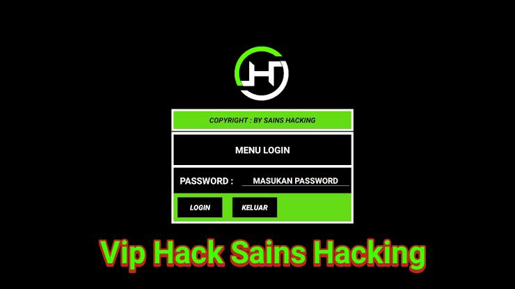 vip hack sains hacking