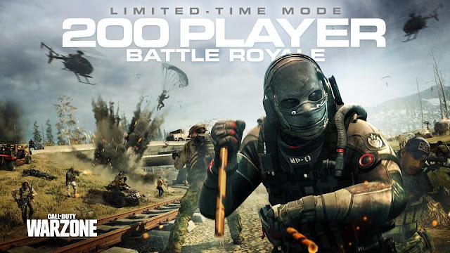 Call of Duty Warzone tendrá hasta 200 jugadores en el campo de batalla